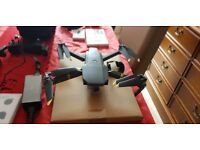 DJI Mavic Pro Fly More Combo with ALL the extras and more 1 month old