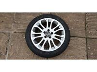 Volvo S40 V50 C30 17 inch 205/50 R17 Sagitta alloy spare wheel rim with new tyre