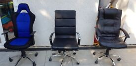 Three Office Chairs