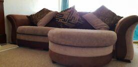 Brown Lounger Sofa