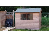 Tounge and groove apex Garden Shed (approx 8ft x 6ft)