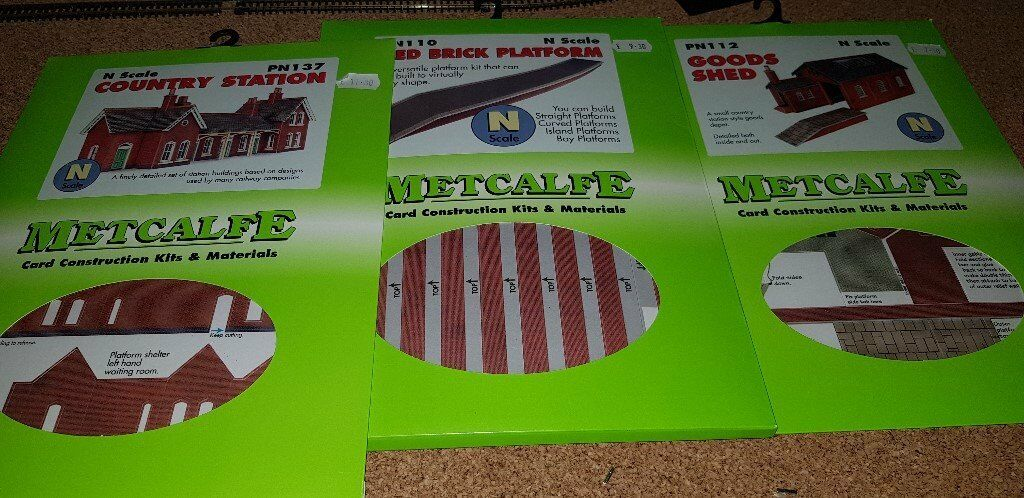 Metcalfe N Gauge Model Railway Buildings Farish Card Kits | in  Stoke-on-Trent, Staffordshire | Gumtree