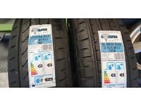 225 65 17 102H 2 x NEW!! tyres Event Semita SUV