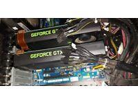 Nvidia GTX 960 4gb 256 bit two cards with sli bridge