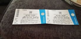 2x Britney Spears Tickets blackpool