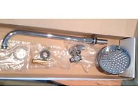Heritage fixed shower head