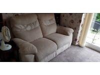 2 seater sofas cream