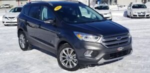 2017 FORD ESCAPE AWD Titanium / 2.0 L / TURBO / A-C / CAM. REC.