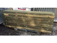 "🌲Mini Railway Sleepers/Fencing Posts 3""X 6""X 7ft"
