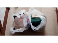 2 BAGS OF USED LADIES CLOTHES - MOSTLY WORKWEAR AND HIGH STREET BRANDS - £5 THE LOT
