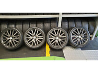 Mazda Genuine MPS 18 alloy wheels + 4 x tyres 225 40 18