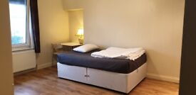 Rooms for short let from £25/day only 12 minutes walk to Raynes Park station