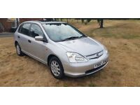 HONDA CIVIC 1.4 AUTOMATIC ( RARE LOW MLEAGE ) ( ANY OLD CAR PX WELCOME )