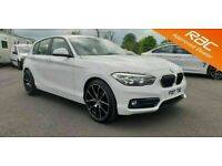 2017 BMW 1 Series 116d Sport Diesel Nav **Finance & Warranty** (a3,golf,leon)