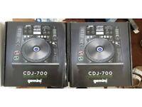 Gemini CDJ-700 pair