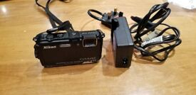 Nikon Coolpix AW100 16 megapixel digital camera
