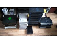 19 faulty consoles and 28 faulty controllers see both pictures