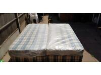 Queen Divan with mattress