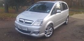VAUXHALL MERIVA VERY LOW MILEAGE