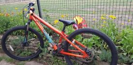 "Mongoose Fireline dirt Jump bike 26"" wheels, alloy frame"