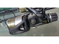 shimano baitrunners aero 6000 GTE reels. Come with free zebco rods