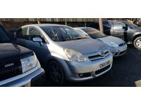 Toyota Corolla Verso 1.8 VVT-i T3 5dr *SPARES OR REPAIRS* £350 ONO*