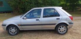 Ford Fiesta Zetec 1.3 Silver 61000 miles