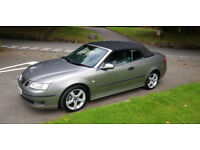 Saab Convertible 9-3 1.8t Full service history with 9 services.