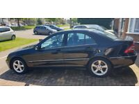 Mercedes-Benz, C CLASS, Saloon, 2006, Semi-Auto, REDUCED NOW TO £2150