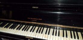 Beautiful Black Brinsmead Piano for FREE......Croydon