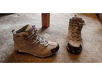 Womens Jack Wolfskin hiking boots.