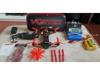 Immersion RC Vortex 285 Full Setup FATSHARK FPV GOGGLES INCLUDED!!! OFFERS WELCOME