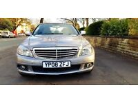 Mercedes-Benz C Class Automatic c220 Diesel HPI clear Low mileage