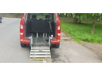 Peugeot partner wheelchair accessible 1.6hdi