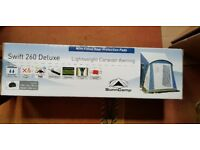 Swift 260 Deluxe Awning Brand New in sealed box.