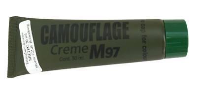 Bote de pintura camuflaje facial 30 g verde - enmascaramiento de cara e. militar