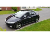 2007 HONDA CIVIC 1.8 I-VTEC ES, 96K, FULL MOT, PANORAMIC ROOF, JUST SERVICED & 3 MONTH WARRANTY!