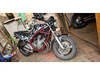 YAMAHA XJ600 rat bike