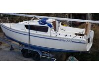 GibSea 24ft Trailer Sailer - a roomy, versatile and affordable family friendly cruiser