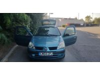 Renault Clio 1149cc 3 door manual . Call 07903496696