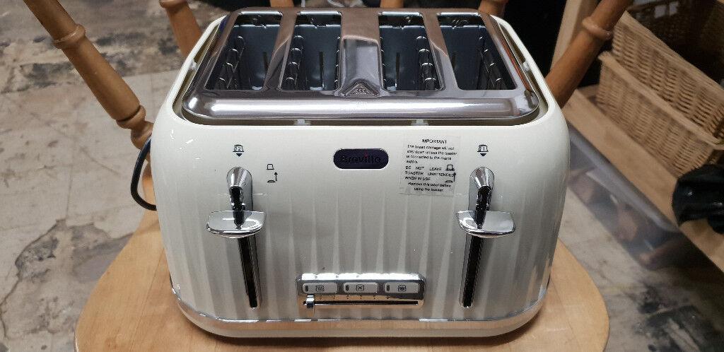 8eb7a5e86137 Breville VTT702 Impressions 4 Slice Toaster - Cream | in Barwell ...