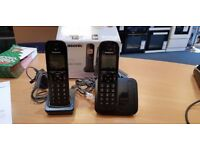 Panasonic Twin Cordless House Phones (Package Damaged)