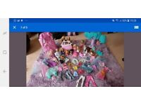 Barbie collection, car, Swan Lake collection, Prince, Princess and children