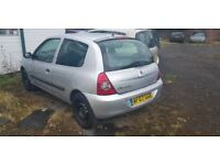RENAULT CLIO 1.2 + LOW MIELAGE + ANY OLD CAR PX WELCOME + EXCELLENT DRIVE SMO0TH ENGINE