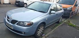 Nissan Almera, 2006, blue