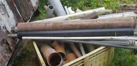 Mixed lot of piping and joints