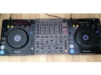2x pioneer CDJ1000mk3 & 1xDJM600 mixer