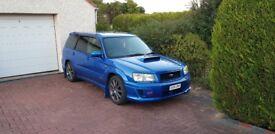 Subaru Forester Sti (not impreza or wrx)