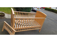 Real Cot Company, Solid Beech Baby Bed