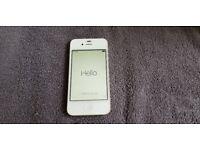 iphone 4s 8gb white locked to o2 £45 ono